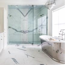 Pietra Glam Master Bathroom