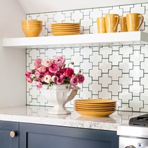 made   swiss cross kitchen rooms gallery   tile  u0026 stone inspiration   ann sacks  rh   annsacks com